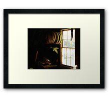 Still Life with Hoops Framed Print