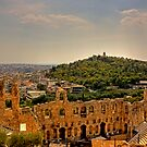 Looking South West from the Acropolis by Tom Gomez