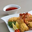 Crispy Fried Prawns by Charuhas  Images
