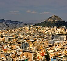 Mount Lycabettus by Tom Gomez
