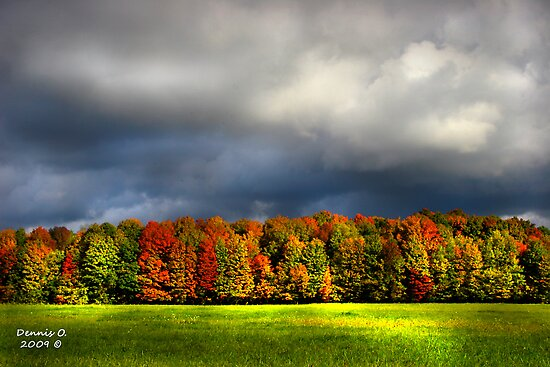 """Clouds of Fall""  #4 by canonman99"