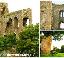 SHERIFF HUTTON CASTLE RUINS 2 by Lilian Marshall