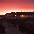 Sunset over Bridgwater Quay by kernuak