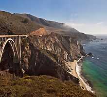 Bixby Bridge, Big Sur California by Barb White