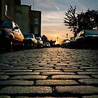 Sunset Cobbles by bache