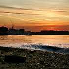 Thames Sunset by bache