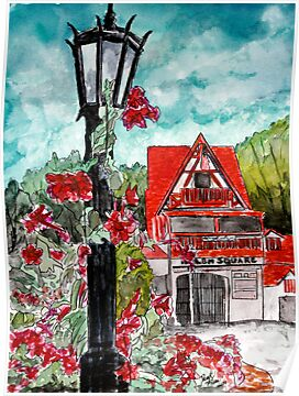 Helen Ga watercolor painting art by derekmccrea
