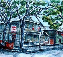 Pirate's House Savannah Georgia art painting by derekmccrea