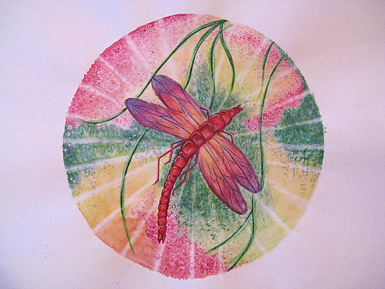 Mandala : Dragonfly Dreams by danita clark