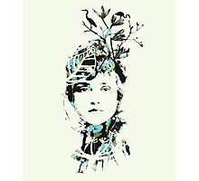 20's Beauty Greeting Card Photographic Print