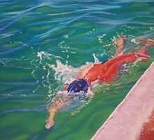 The Swimmer by Carole Elliott