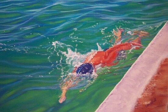 The Swimmer by Carole Elliott