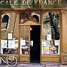 Cafe De France by Pascal Inard