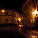 Silence at night (My city) by Antanas