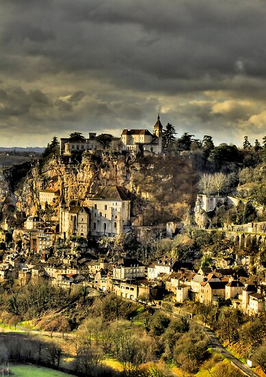 Rocamadour, Lot, SW France by Bob Culshaw