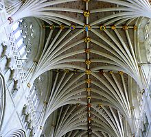 Exeter Cathedral Ceiling by bubblehex08