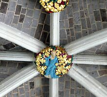 Detail of the ceiling (Exeter cathedral) by bubblehex08