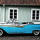 Ford Fairlane 500 Skyliner 1957 by Paola Svensson
