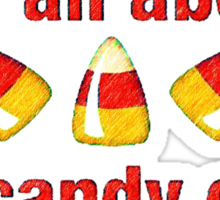 It's all about the Candy Corn Sticker