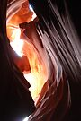 Antelope Canyon - Skylight by Barbara Burkhardt