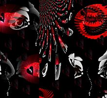 Vacant Eyes, Crimson Lips by Adrena87