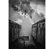 And in a puff of smoke, they went into history Photographic Print