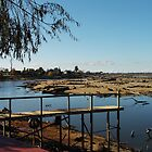 Mulwala lake by Graham Buffinton