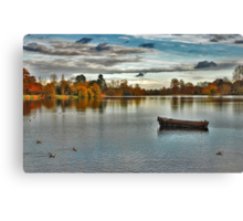 Hever Castle Lake Canvas Print