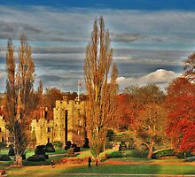 Autumn at Hever Castle by Adri  Padmos