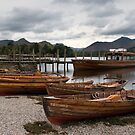 Derwent Water - Lake District  by Jon Tait