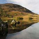 Mellbreak in Crummock Water by Jon Tait
