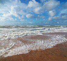 Sea Foam by Martins Blumbergs