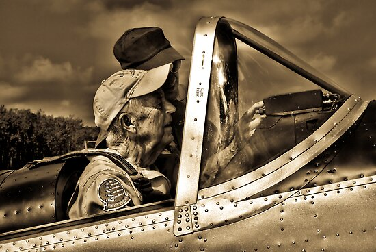 Wingmen Of Yesteryear by Andy Mueller