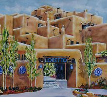 Loretto Inn & Spa - Santa Fe, NM by Joy Skinner