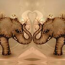 Elephant Love by Karin  Taylor