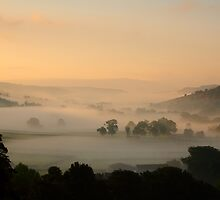 Sleepy Wharfedale by Andrew Leighton
