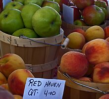Peaches and Apples by cherylc1
