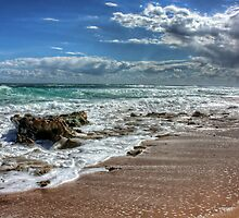 The making of a storm - St Andrews Beach by Michael Tuni