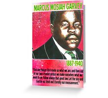 Marcus Mosiah Garvey Greeting Card