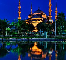 Blue Mosque by Chris McIlreavy