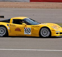 Yellow Corvette by Willie Jackson