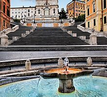 Piazza di Spagna by Chris McIlreavy
