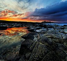 Dunstanburgh Castle by Chris McIlreavy