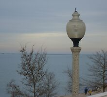 Lake Michigan from Chicago by Felicia722