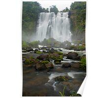 Marokopa falls, Waikato, New Zealand Poster