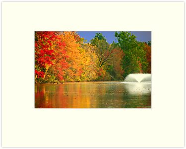 Fall Along the Raritan by Mary Campbell