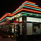 Diner in Neon  by clizzio