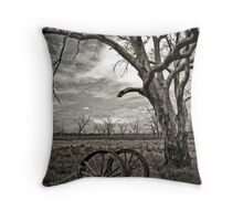 Dying Out Throw Pillow