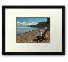 Cape Blomidon Beach Framed Print