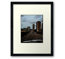 On The Road #2 Framed Print